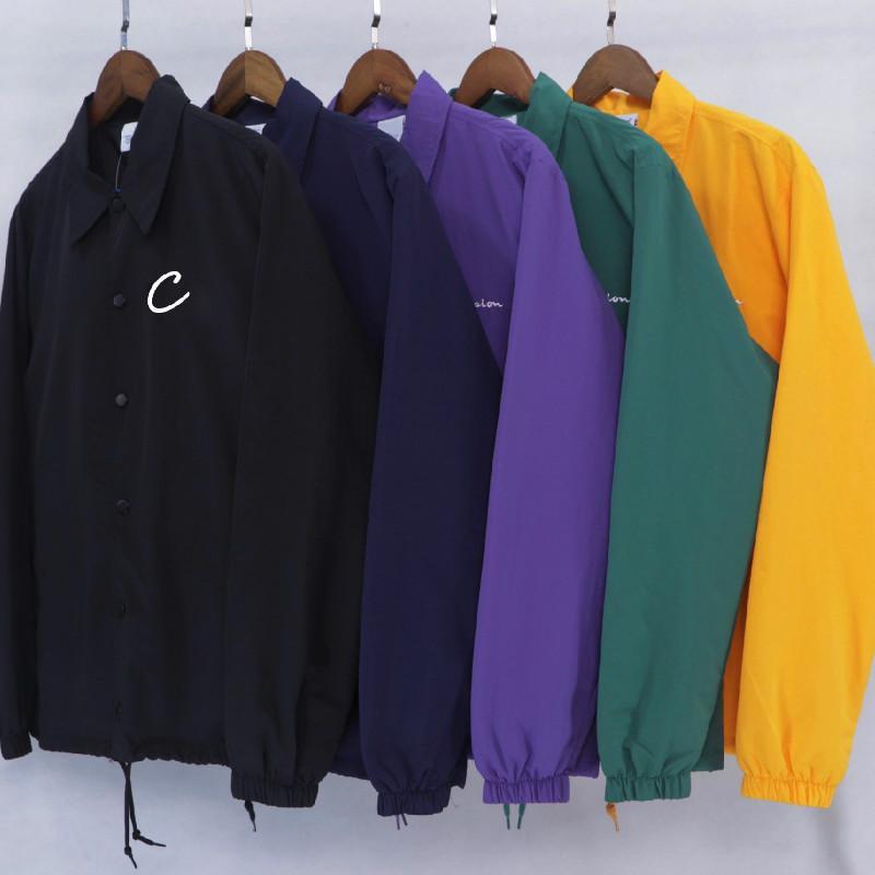 Mens New Jackets Lettre de broderie Motif Casual Femmes Mode d'extérieur du Japon Hot Style Vente Hommes Manteaux d'hiver Unisexe