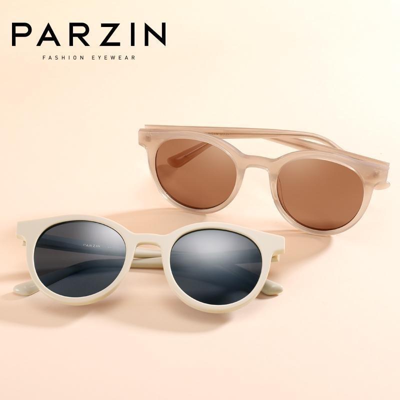Farbtöne Vintage Frauen Marke Designer für Sonnenbrille Nylon Lady Lover Sonnenbrille Parzin 400 UV Retro Linsen 7755 Miblf