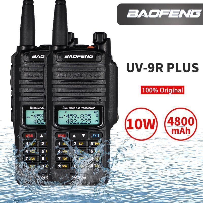 2PCS Baofeng UV-9R plus 10W Walkie Talkie High Power Waterproof Protable CB Ham Hunting Radio UV 9R plus Dual Band Two Way Radio1