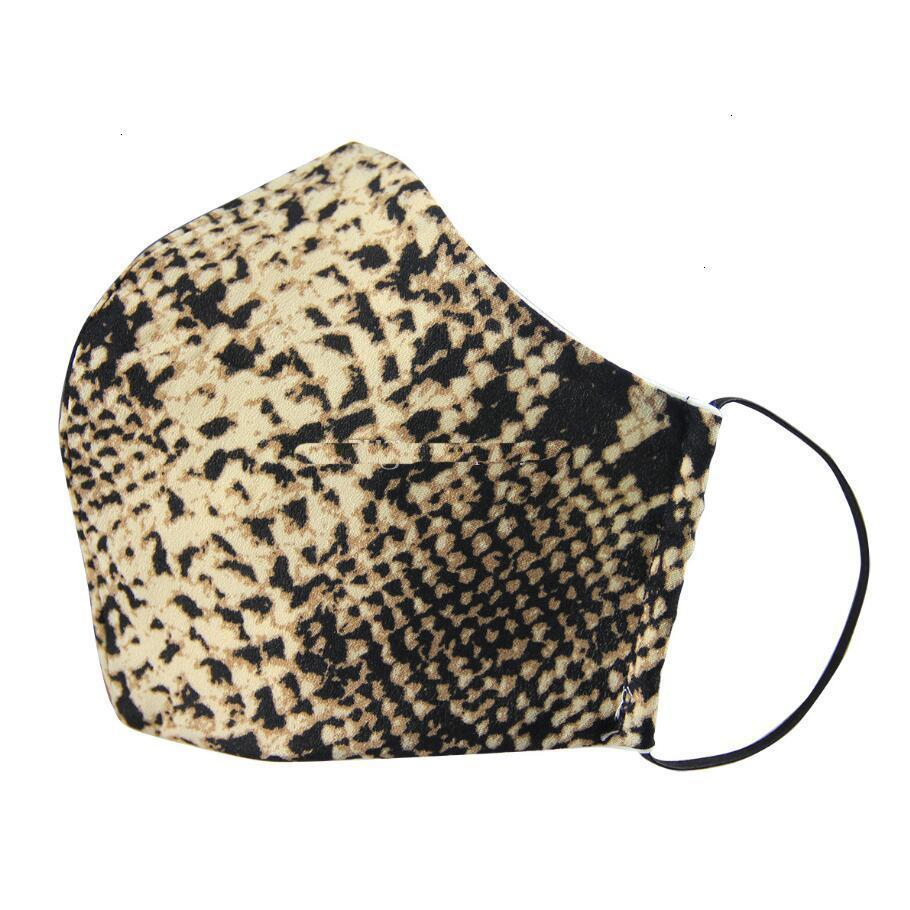 FactorySTC3Fashion Designer Dustproof Masks Mask Washable Leopard Face Respirator Cycling Men And Women Outdoor Sports P
