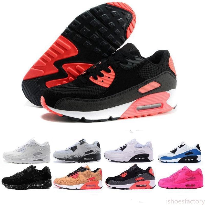 2020 Ivory 90 Mens Running Shoes essere vero Mixtape Triple nero bianco delle donne degli uomini Classic Giallo Rosso Sport Trainer Cuscino 36-45 è
