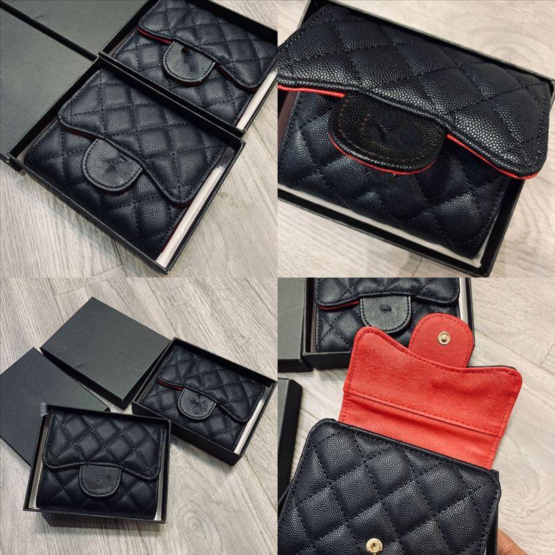 X16TG ÜST Yüksek Kalite Tasarımcı Kalite Son Güzel Moda Kısa Kadın Cüzdan Deri Kızlar Değişim Para Çanta ClaP Para Kart