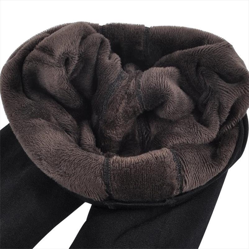 Womens outono Hot Nova Moda e inverno alta elasticidade e boa qualidade grossa de veludo calças leggings quente