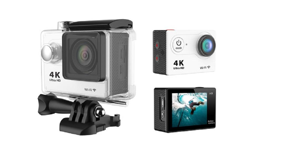 H9 الرياضة DV كاميرا 4K الرياضة واي فاي الغوص في الهواء الطلق للماء غاطسة البسيطة