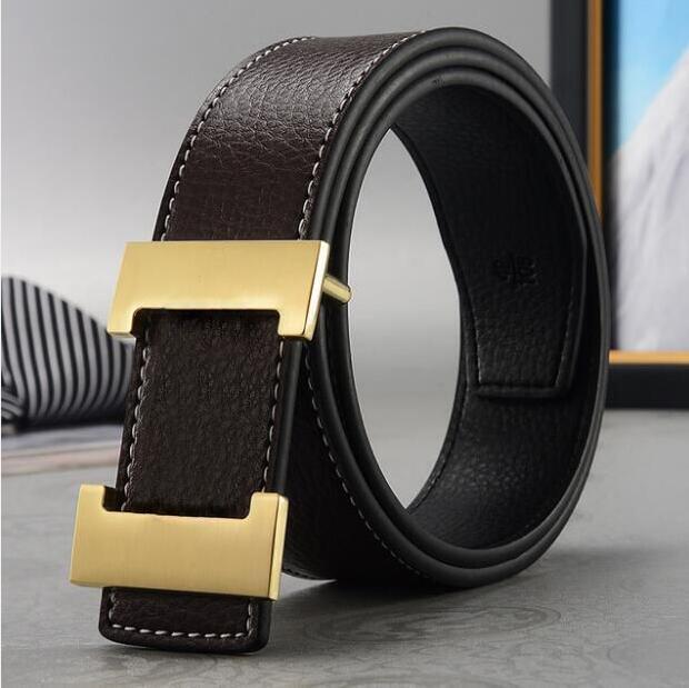Best-Selling Cinturón de cuero de alta calidad Cinturón de cuero Hombres y mujeres Hebilla de oro Hebilla de plata Cinturones negros Entrega gratuita Cintura Cinturones para hombres 1457