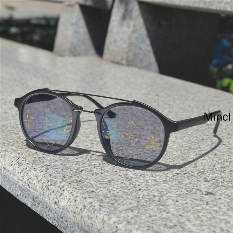 2Tranition Sonnenbrille Brille Frauen Photochromic Gläser Multifokale Lesen Progressive Männer Hyperopia Lesen Presbyopia FML Ejtju