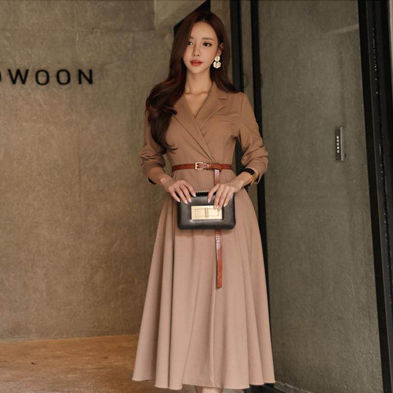 Fashion women comfortable warm long coat OL new arrival high quality temperament outerwear thick holiday outdoor trend trench 201015
