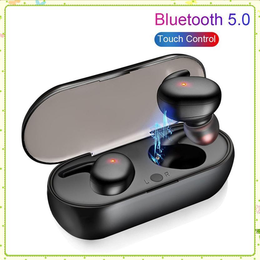 Y30 بلوتوث 5.0 سماعات لاسلكية سماعات سماعات الرياضة البسيطة مع شاحن شحن مربع powerbank سماعة لجميع الهواتف MQ30