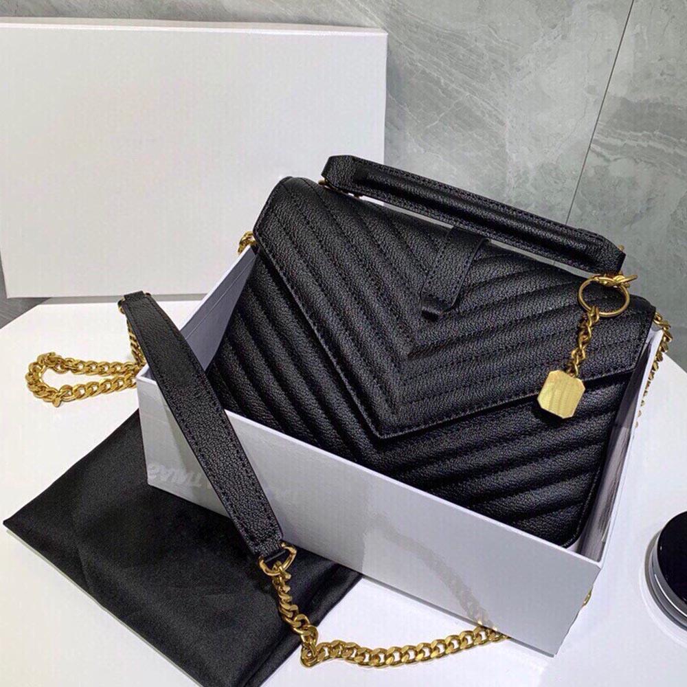 Luxo Moda Designer Design Clássico Grande Capacidade Flip Carteira De Couro Bolsa Senhora 3A + Alta Qualidade Couro Bag Messenger Bag
