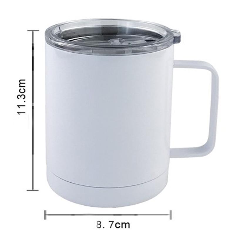 Sap GGD2261 ile ucuz 10oz Süblimles¸me Boş Kahve Mug Kupası Ofisi Çift Duvar Sublime Insualted Vakum İçme Suyu Tumbler