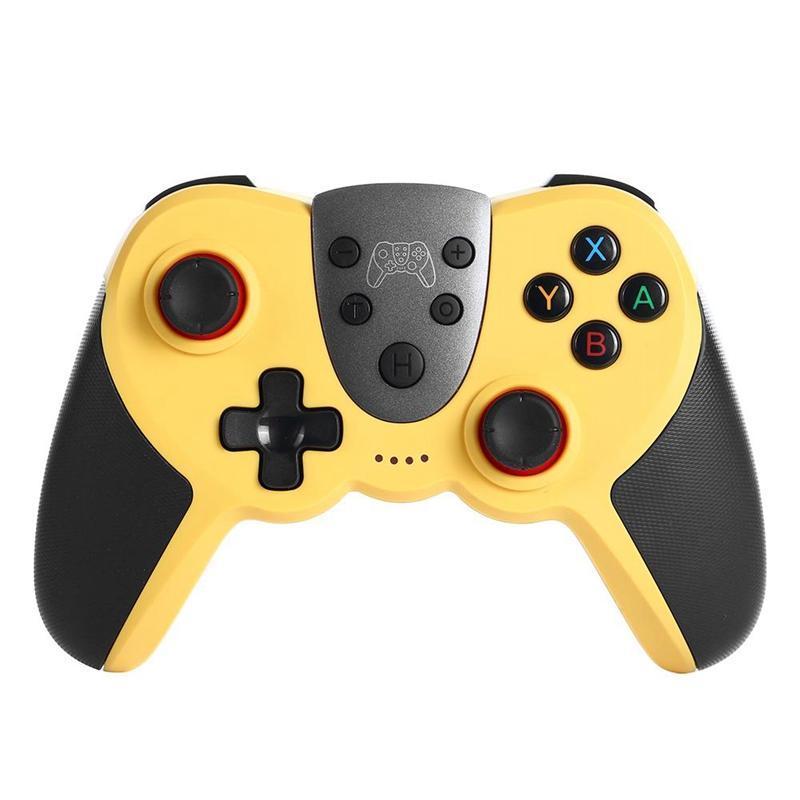 Joystick 3D controlador sem fio Bluetooth NFC Vibration Somatosensory sem fio Game Controller para Mudar PRO