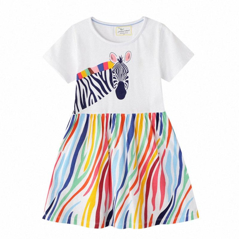 Float Abelia Sommer 2020 New Hot Kinder Kleid Prinzessin Party-Mädchen-Kleider Cotton Kinderkleidung Fashion-Karikatur-Mädchen-Kleid q9IB #