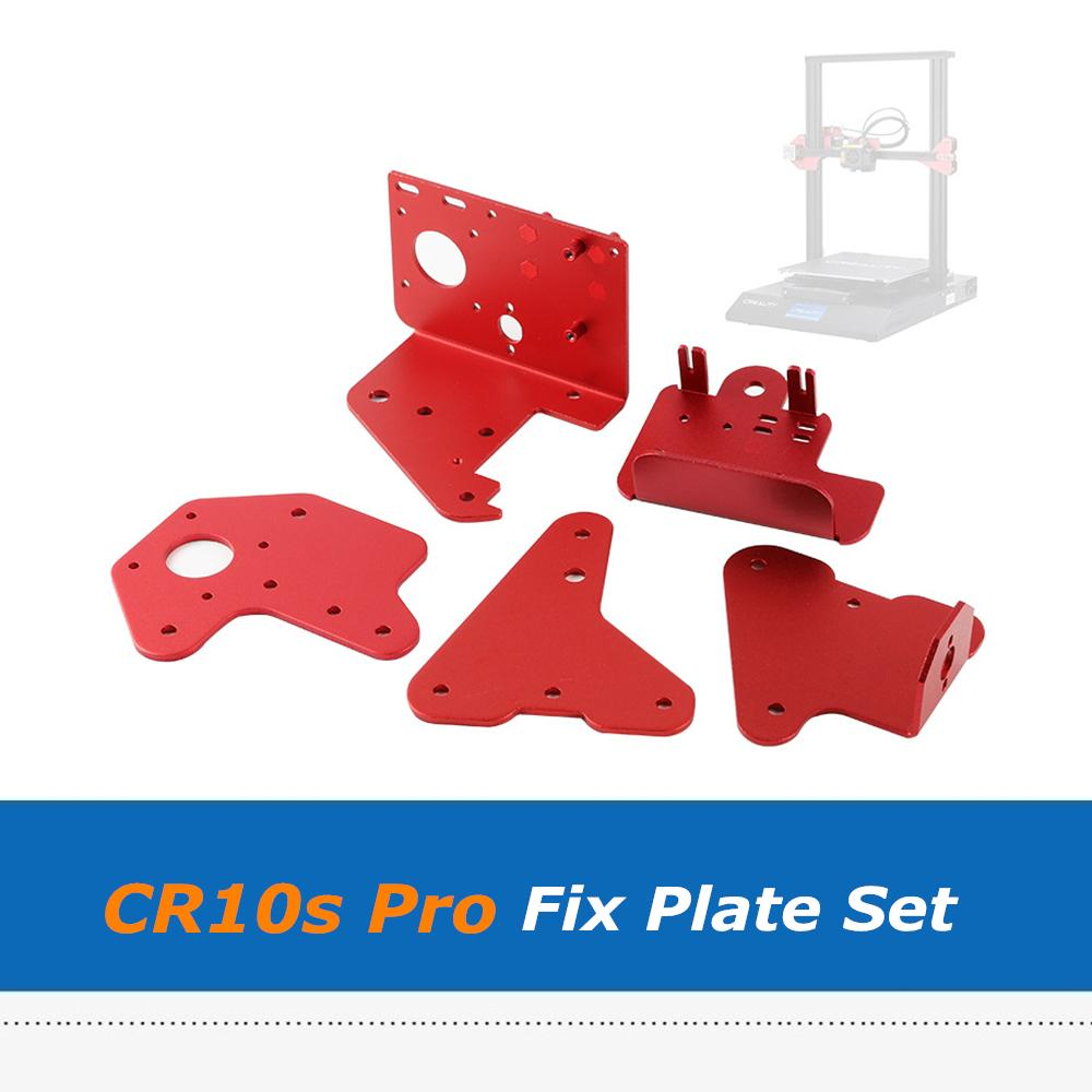 Creality Impressora 3D CR-10S Pro Extrusora XZ Axis Correção Correção Placa Suporte Front Back Alumínio Suporte para CR10S Pro
