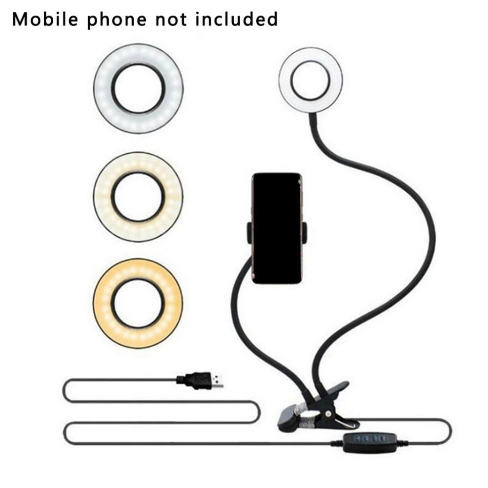 lumière universelle personnalisée avec un téléphone mobile flexible pour réglage de la lumière de bureau LED et téléphone support