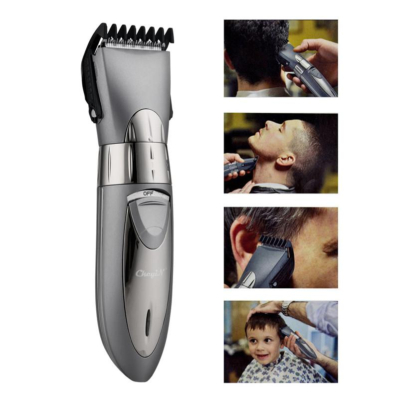 Rechargeable Waterproof Hair Clipper Beard Electric Hair Trimmer Shaver Body Hair Mustache Shaving Trimmer Haircut 55