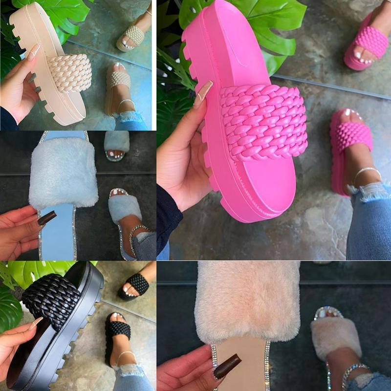 JGAC2 markalı kadınlar chic yüksek topuk tasarımcı sandalet yastıklı deri yaz dener terlik düz terlik tasarımcı yüksek kaliteli lady kapitone