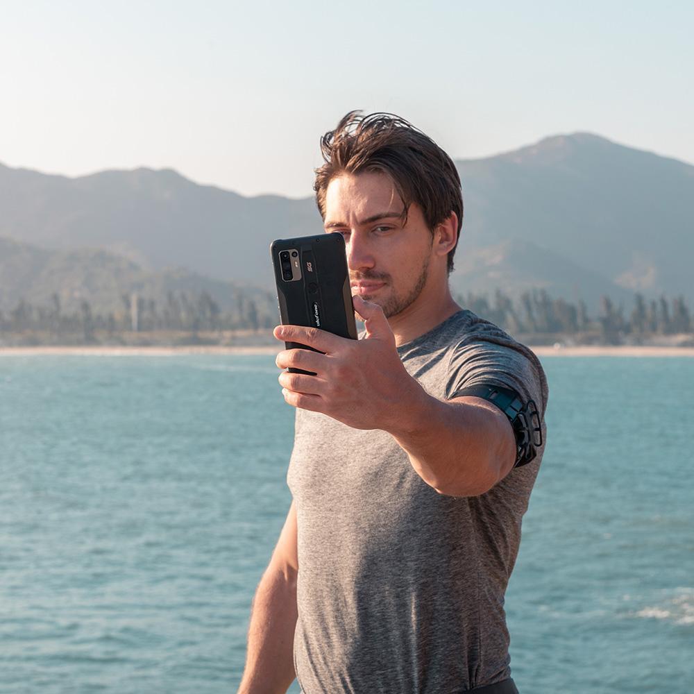 Ulefone-Rüstung 10 5g 6,67-Zoll-LTE-Zellen 128 GB Android 5g Handy