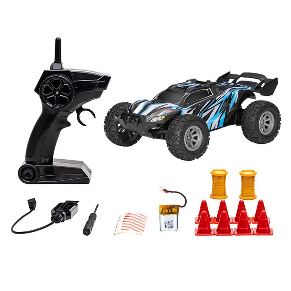 2,4 g 25km / h Wasserdichte RC Racing Auto Buggy Truck Off-Road Toys Fernbedienungsfahrzeug
