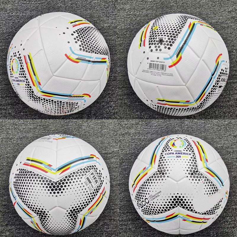 새로운 2020 코파 아메리카 축구 공 최종 키예프 PU 크기 5 공 과립 미끄럼 방지 축구 무료 높은 품질의 공을 출하