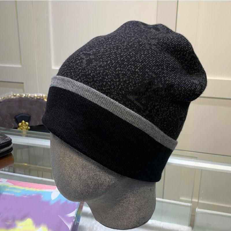 2020 أزياء الرجال مصممين القبعات بونيه الشتاء قبعة محبوك الصوف قبعة زائد المخملية قبعة skullies قناع سماكة هامش بيني القبعات