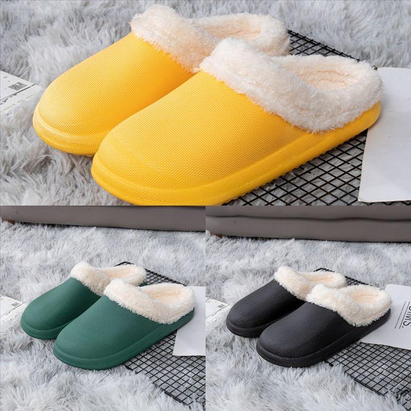 OAGHV Mode Baumwolle Mädchen Bowknot Slipper Winter Warme Slipper Frauen Designer Glänzende Hausschuhe Plüsch Home Schuhe Pelz Warm Komfortabel hoch