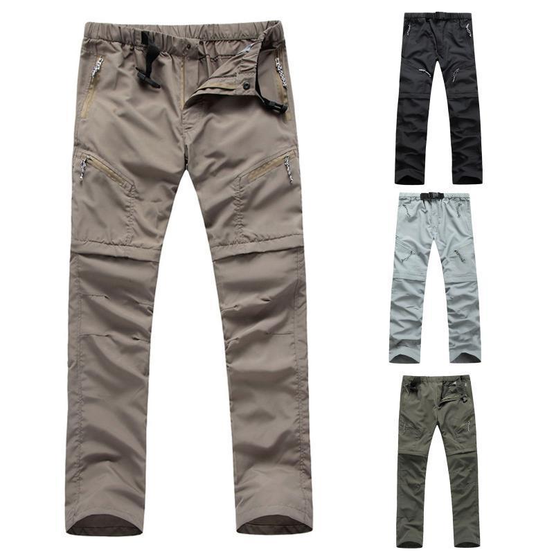 Открытые брюки Мужчины Пешие прогулки Длинные Быстрые сушильные боевые брюки Мужской лыжи Кемпинг Спортивные спортивные штаны Водонепроницаемый прочный