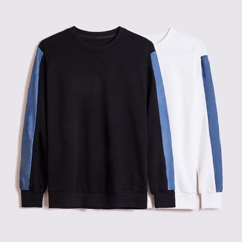 20FW Fashion Men Pullover High Quality Cotton Sweatshirt for Men Women Fashion Print Long Sleeve Pullover Sweatshirt Size S-2XL