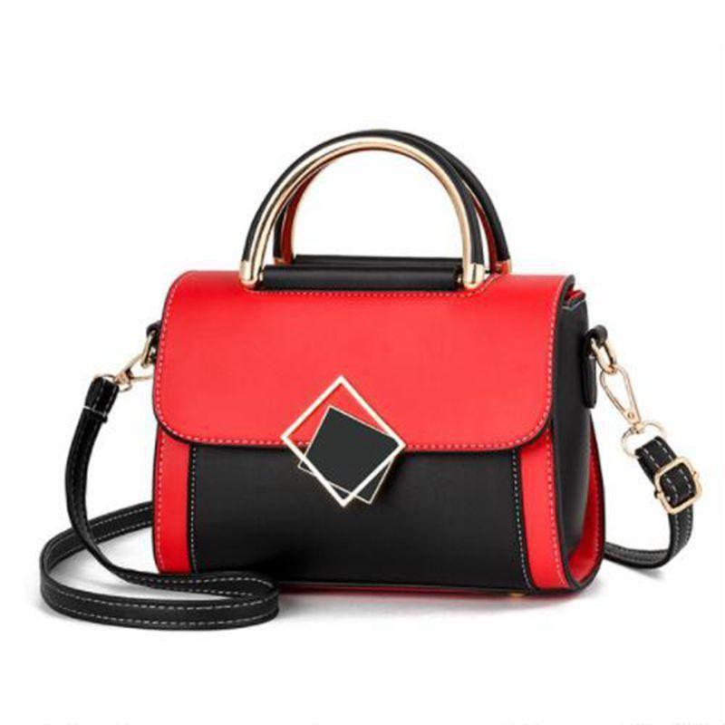 Brand Square CrassBag Messenger Сумка Сумки из кожи PU Роскошные сумки Сумки Satchels Плечо Женщины Мода РАБУУ