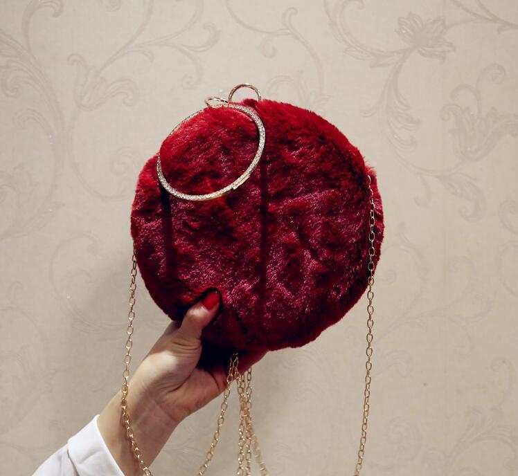2021 Luxury Handbags Glitter Bag Evening Wedding Fashion Shiny Bag With Chain Party Women Women Bridal Ladies Clutch Ewfpb