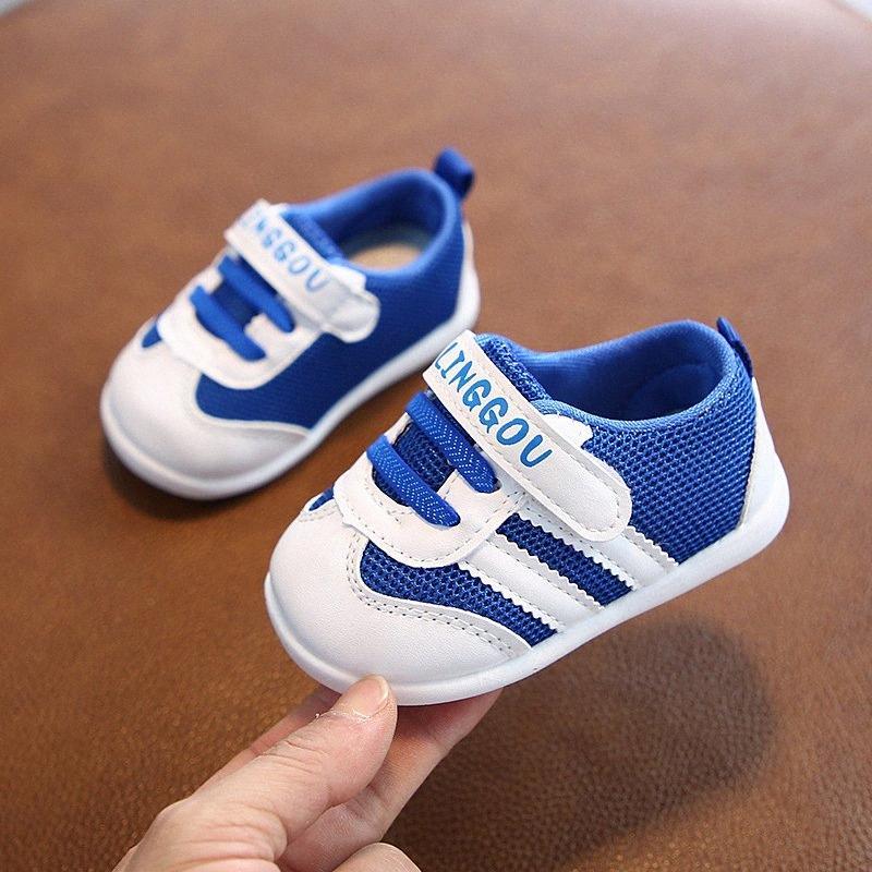 Primavera 2020 nuovi bambini 0 2 anni 3 ragazzi e ragazze scarpe da trekking maglia scarpe morbide Sole Trendy singolo OGx6 #