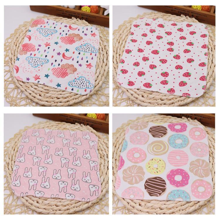 Toalla de algodón para gasa de toalla 6 capas bebé de alta densidad de alta densidad de dibujos animados niños cara especial pañuelo de algodón puro npcku