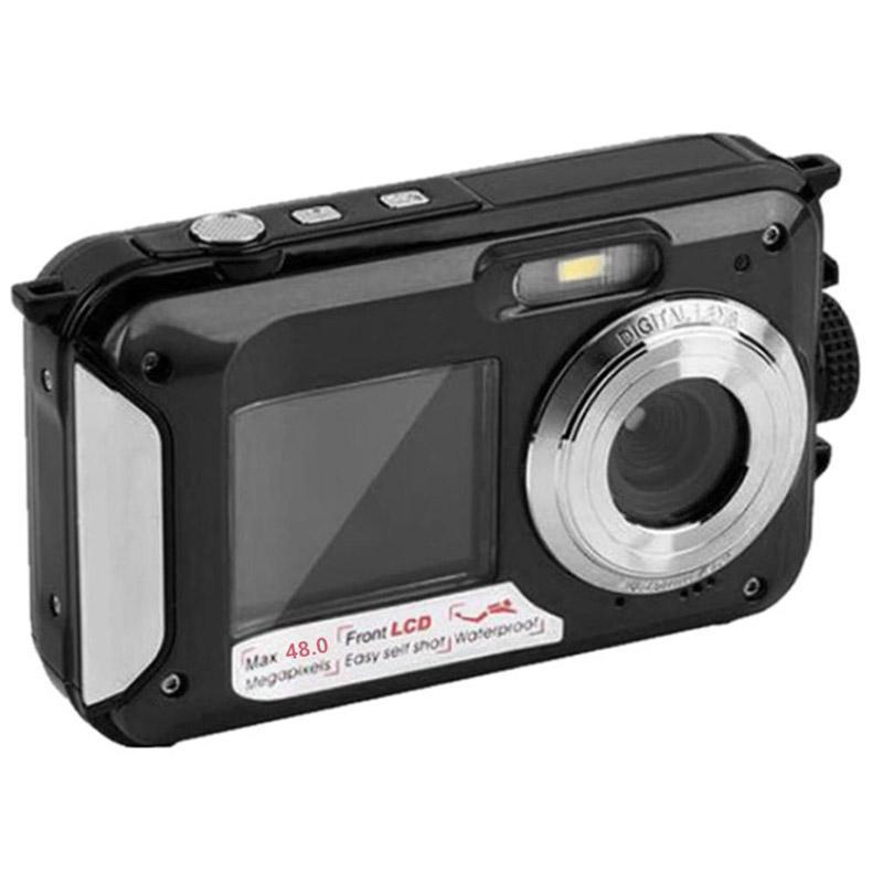 48MP Unterwasser wasserdichte Digitalkamera Dual Screen Video Camcorder Point und Shoots Digitalkamera EM88