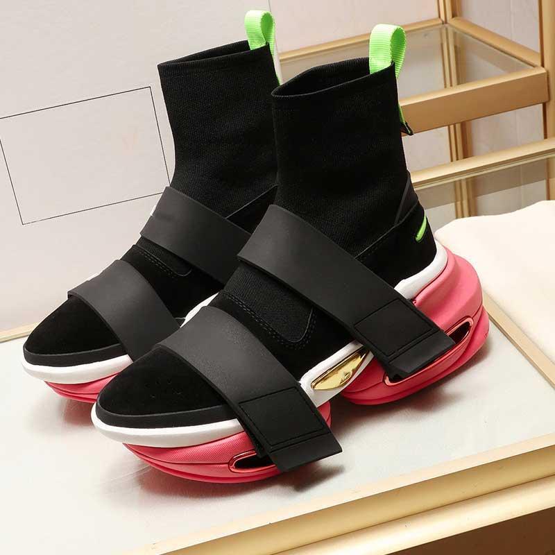 2020 Париж зимняя мода звезда мода повседневная обувь женщин мужские носки обувь пары нескользящей подошвой подошвы 35-45 Siez высокие верхние керы с оригинальной коробкой