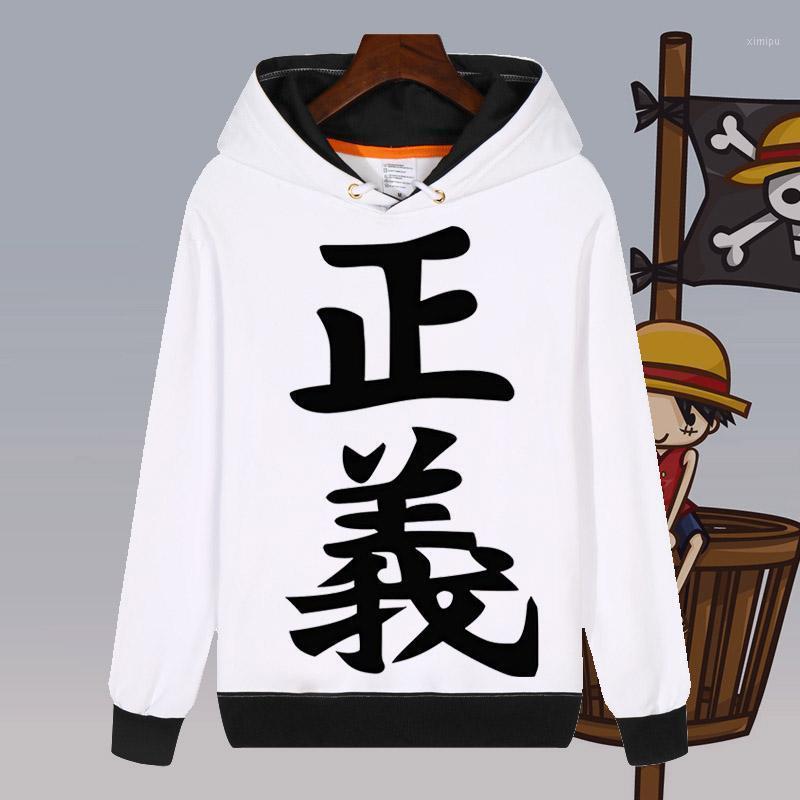 Herren Hoodies Sweatshirts Mode Anime Ein Stück Luffy Cosplay Weiß Sweatshirt Herbst Unisex Kapuzenpullover Mantel Tops Anpassen1