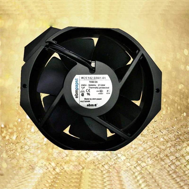 Brandneue Hohe Qualität W2E142-BB01-01 230V 50 / 60Hz 27 / 25W Kühler-Luft-Lüfter