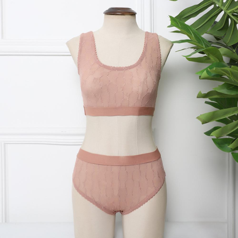 Feminina Sexy Lace Floral Deep V Push Up Bra e Pantis Lingerie Underwear Settm1KB