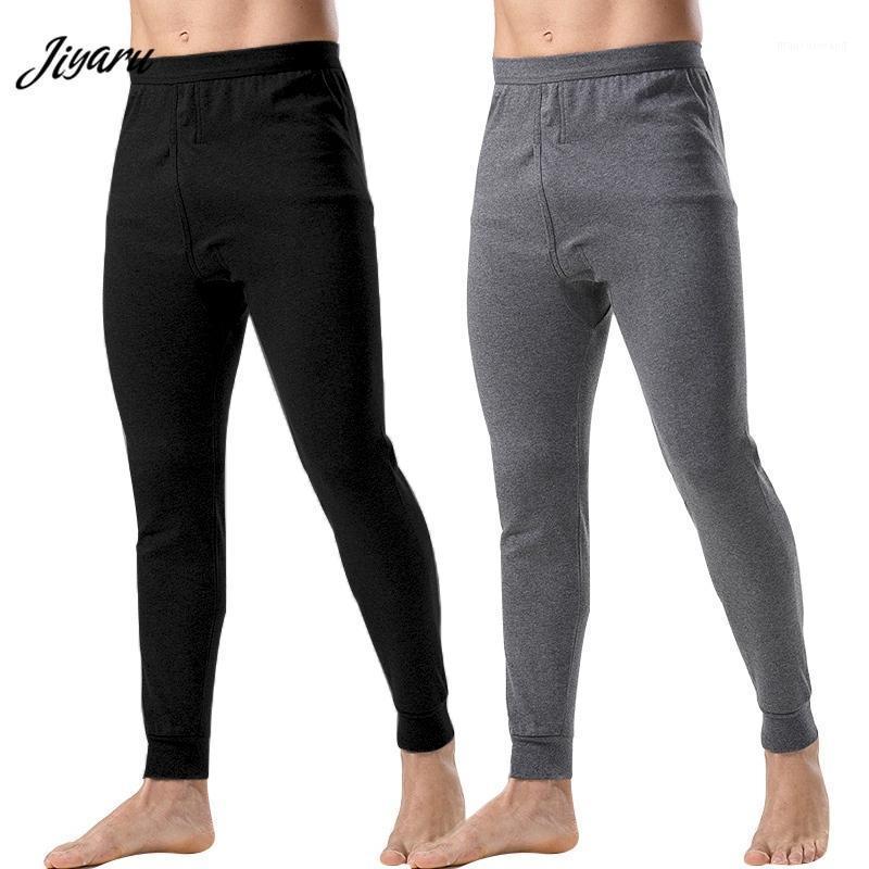 Nueva ropa interior térmica para hombres sueltos Pantalón térmico largo Largo Johns Ropa interior Masculina para hombre LEGGINGS PLUS TAMAÑO CALIENTE CALIENTES PANTES LARGOS1