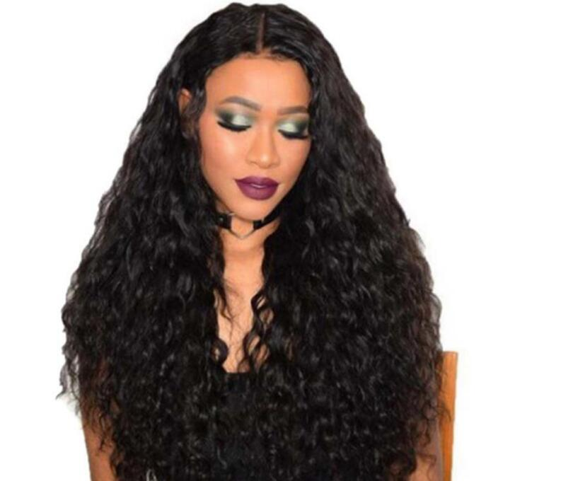 Livraison gratuite Boîte de nuit femme perruques cheveux longs bonnets mode perruque Afrique du maïs très chaud dans les chapeaux de perruque de longs cheveux moelleux