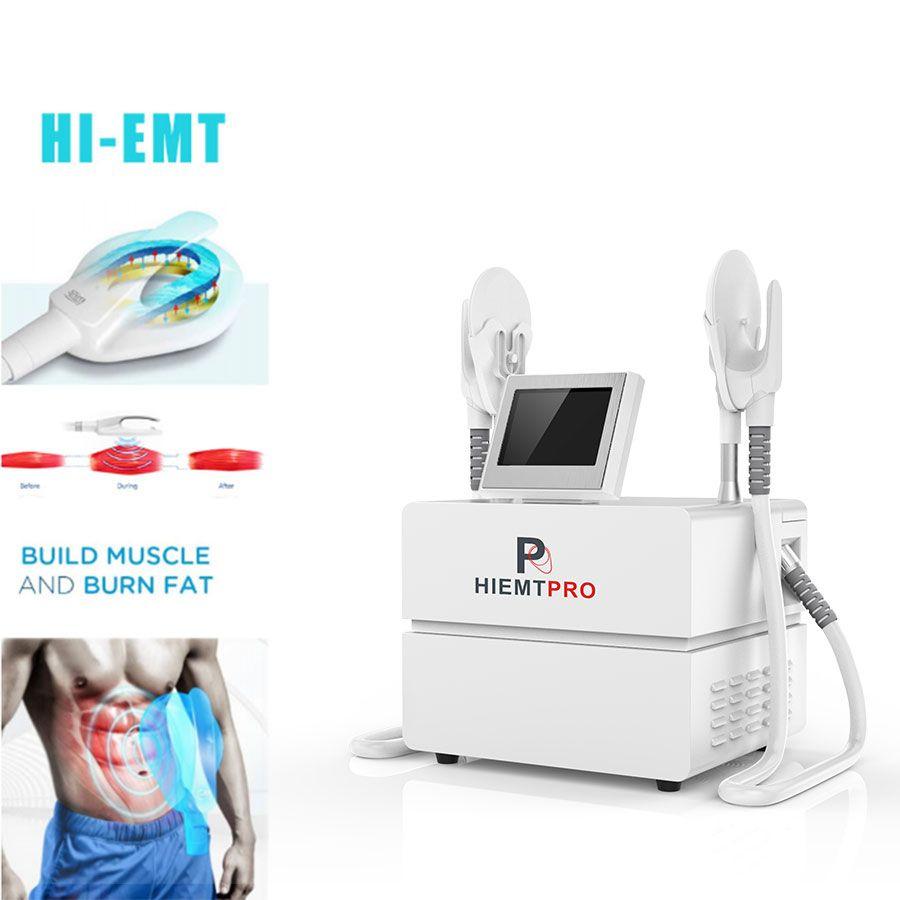 Hiemt emslim العضلات الكهرومغناطيسي محاكي الدهون حرق تشكيل ems الجسم يتأرجح الجهاز بيع
