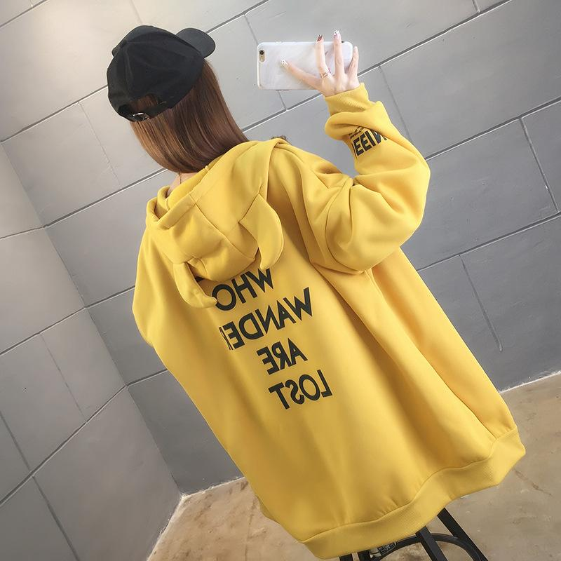 Plush thickened sweater for women's autumn and winter 2021 new loose Korean versatile lazy style coat ETW2