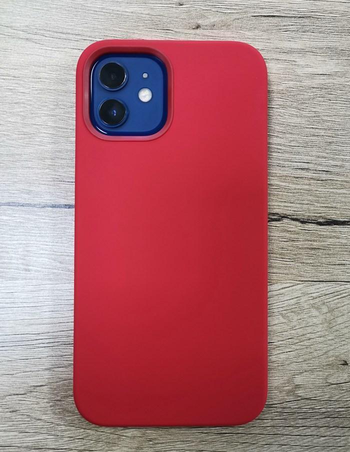 Caja de imán de carga inalámbrica para iPhone 12 Mini Pro Max Three Three Funds FUERT Magnetic Liquid Sile Cover Qylwtc Loveshop01