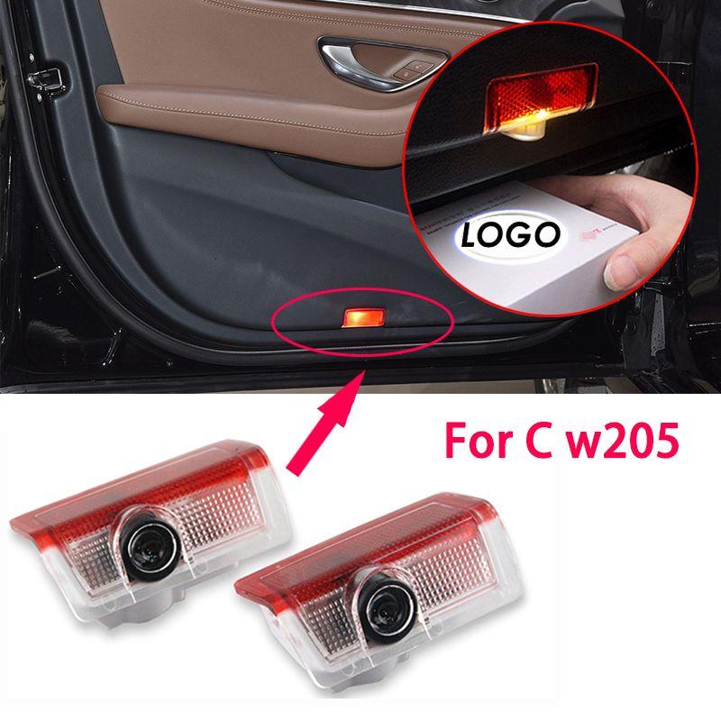 LED Araba Kapı Işık Projektör Logosu Hoşgeldiniz Işık Forben-Z W205 W176 W177 V177 W247 W246 W212 W213 GL X166 M W166
