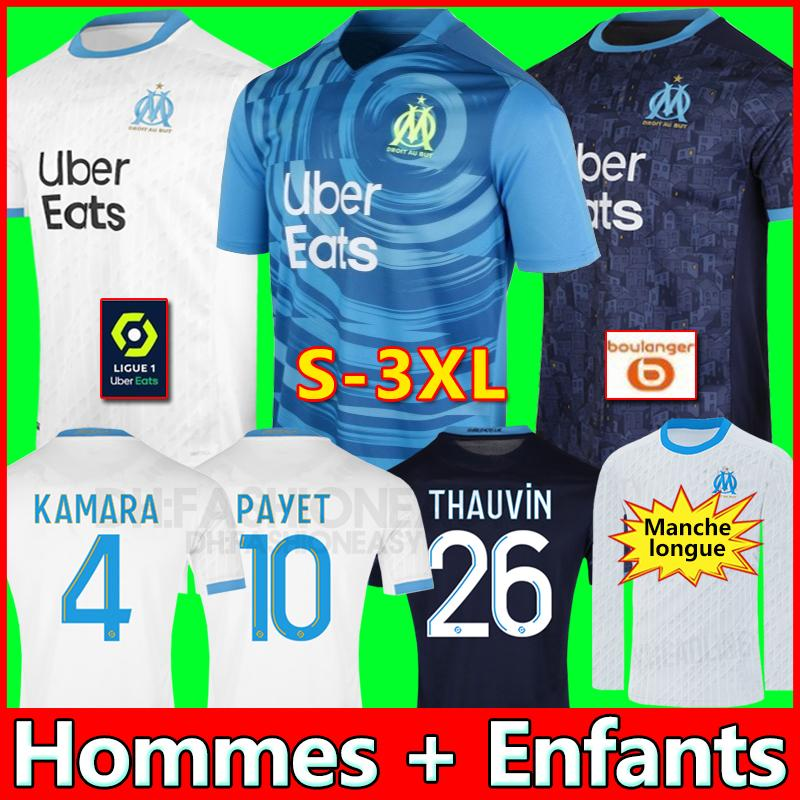 Olympique de Marseille jérsei de futebol 2020 2021 OM Marselha Maillot De Pé PAYET Thauvin BENEDETTO Polo jerseys 20 21 camisas Marselha