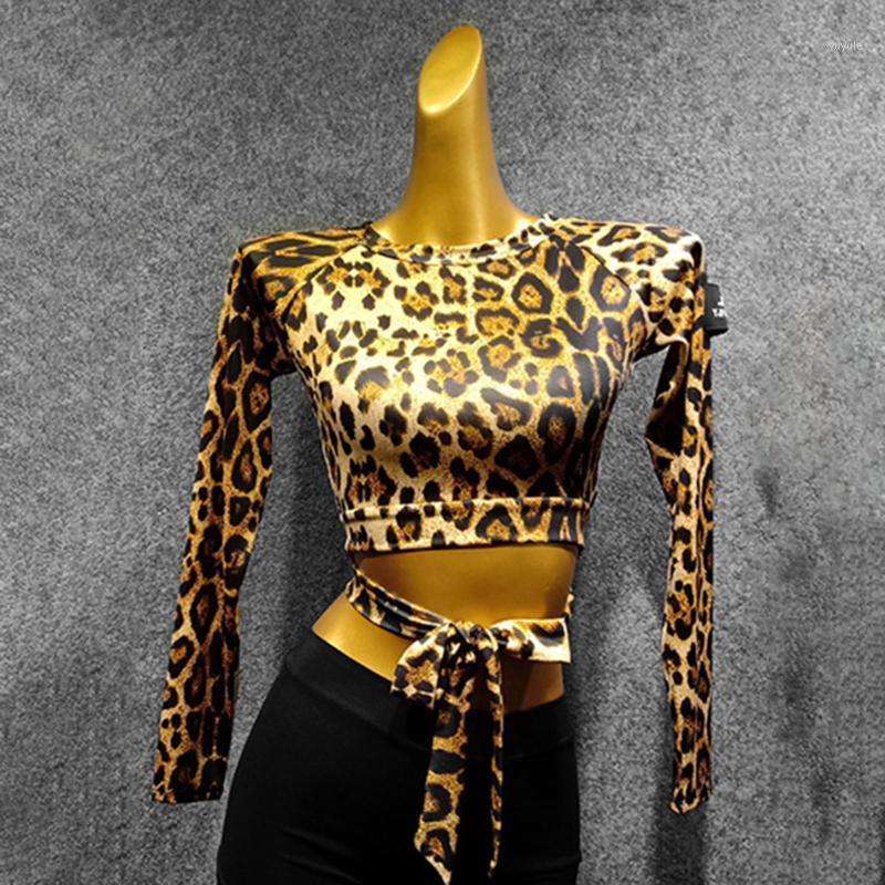 Stage Wear Maschio Abito da ballo latino Abito a maniche lunghe per le donne Ballroom Samba Tango ChaCha Dancing Performamnce By3661