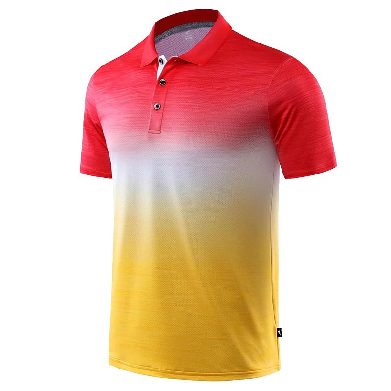 rojo camisa de golf seca amarilla de 2020 nuevos hombres rápidos ropa de golf camisa Roba campo del deporte de la manga corta de las mujeres de ropa deportiva