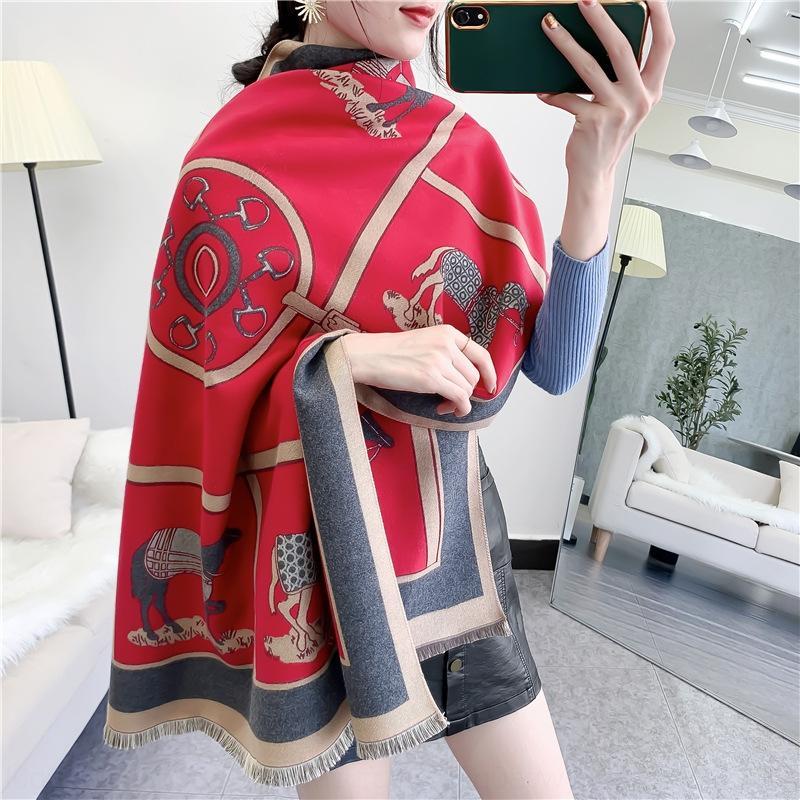 Designer womandener sciarpa jacquard sciarpa progettista viaggi a New stile della Boemia donne doubleside Paisley di Lady Sciarpe dello scialle dell'involucro Si qdHl