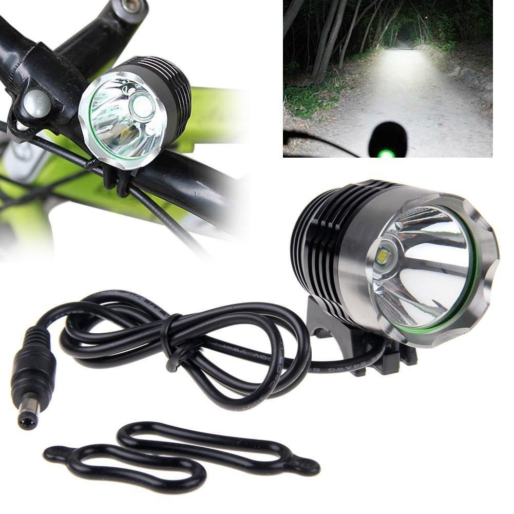 كري XML T6 1800lumen LED دراجة ضوء دراجة ضوء كشافات 3modes دراجة ضوء دراجة الأمامية مصباح العلوي حزمة مع حزمة البطارية