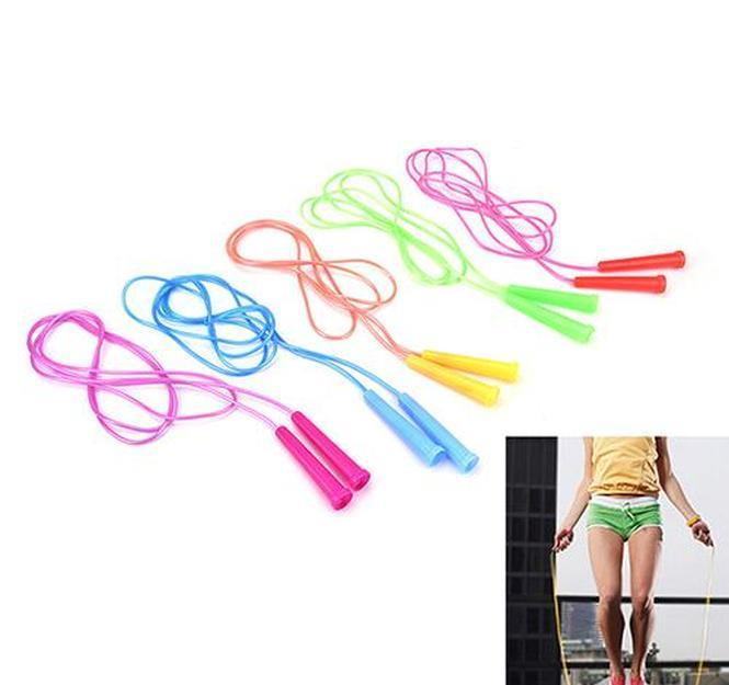 2019 Hot 1pc 2.4m Speed Adjustable Jump Rope Fitness Sport Exercise Wire Skipping Cross Fit Student Kids jllmzZZ lajiaoyard
