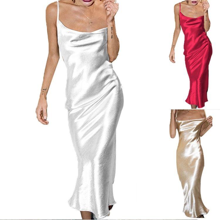Skinny Satin Maternity Dresses For Pregnant Prom Sheath White Red Gold Color Clothing Girls Dresses Formal Women Long Evening dress