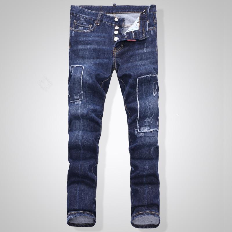 Тонкий тенденция стирают низкие талии ночных ночных клубов мода бутик джинсы брюки весна и лето